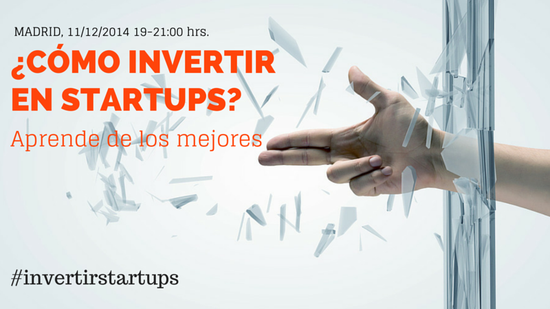 invertir startups evento madrid