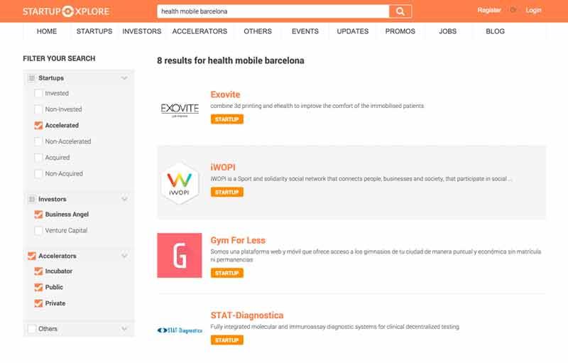 Results-for-health-mobile-barcelona-Startupxplore