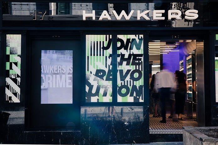 Hawkers tienda fisica