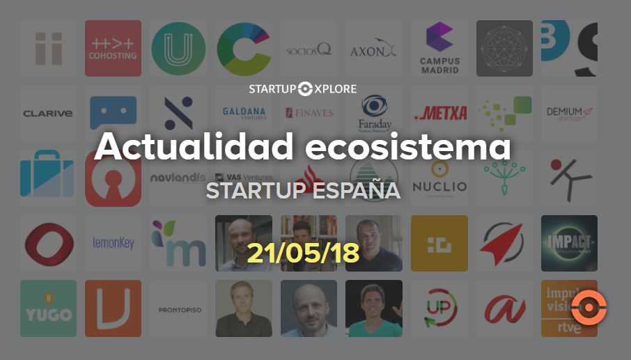 actualidad startup españa 2018