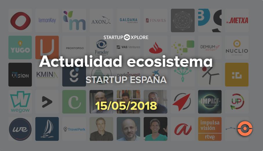 actualidad startup españa mayo