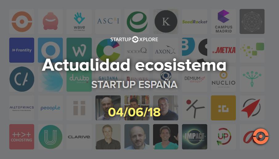 actualidad startup españa junio