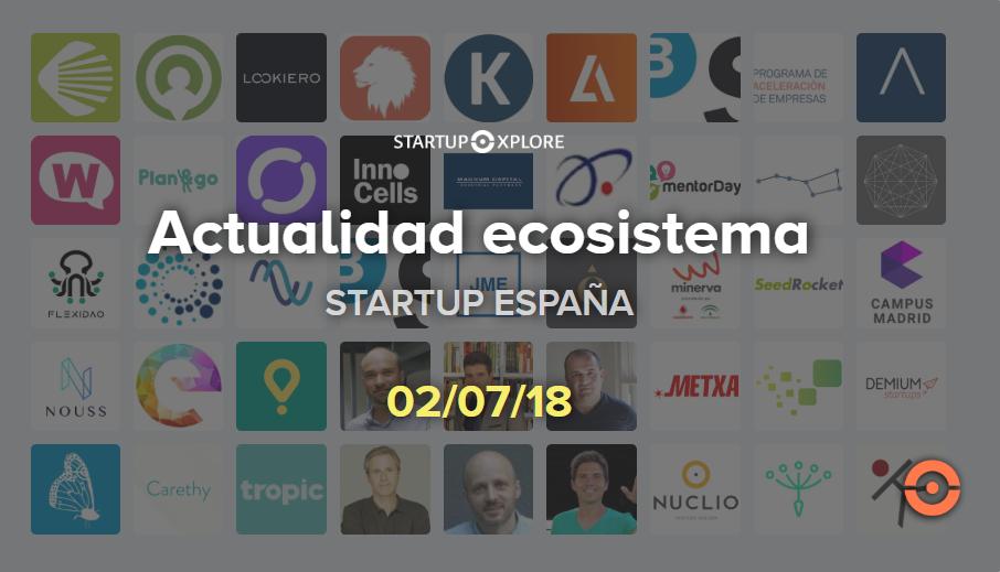 actualidad startup julio 2018