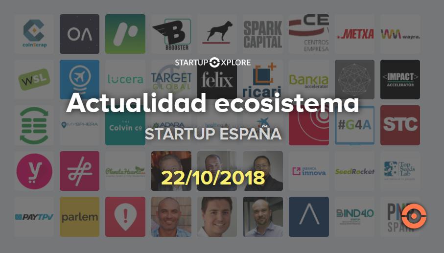 actualidad startup españa octubre