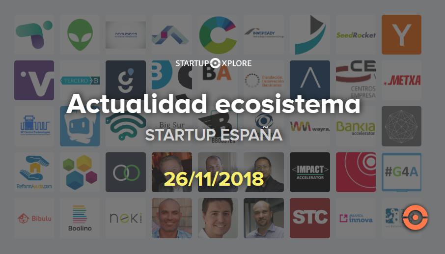 actualidad startup 26 noviembre