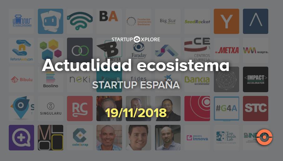 actualidad startup noviembre 19
