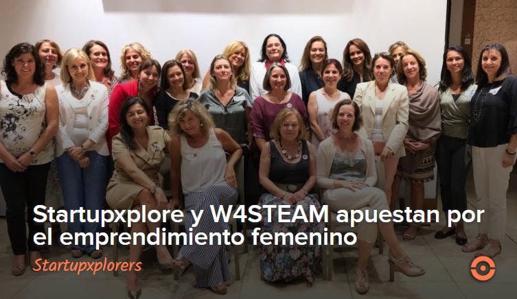 WA4STEAM y Startupxplore unen fuerzas para apoyar el emprendimiento femenino