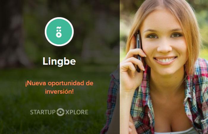 Lingbe, nueva oportunidad de inversión en Startupxplore
