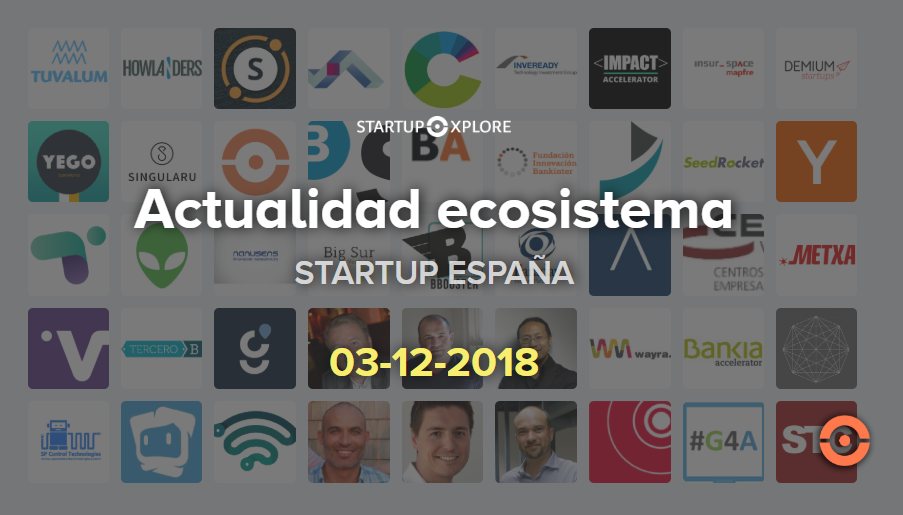 startupxplore diciembre actualidad
