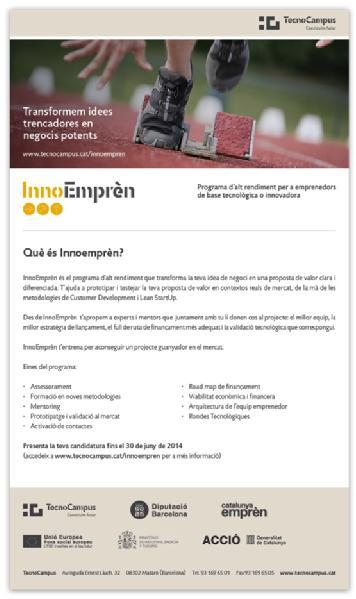 Images from TECNOCAMPUS - INNOEMPREN