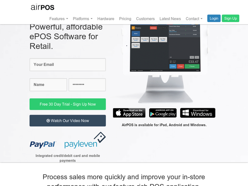 Images from AIRPOS