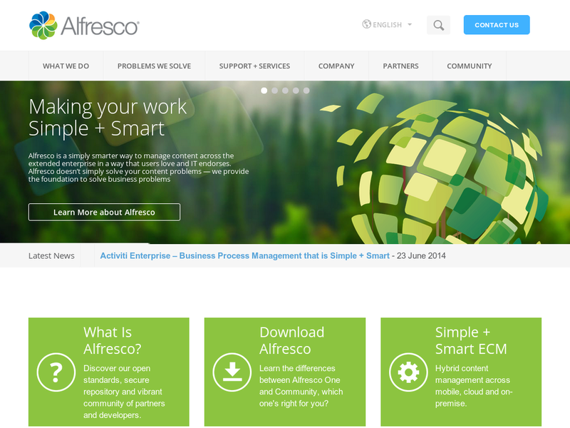 Images from Alfresco Software