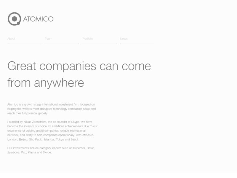 Images from Atomico
