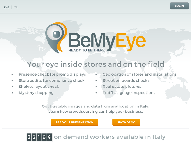 Images from BeMyEye