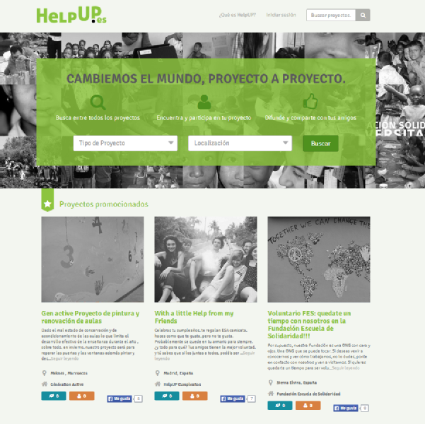 Images from HelpUP