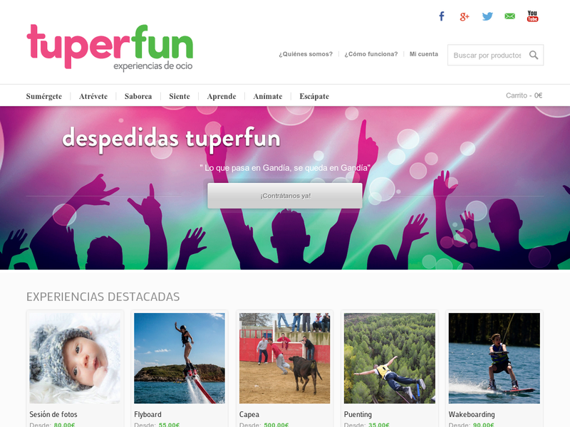 Images from Tuperfun Ocio, S.L.