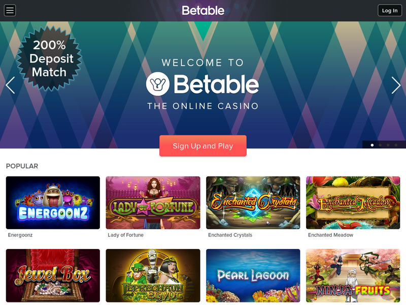 Images from Betable