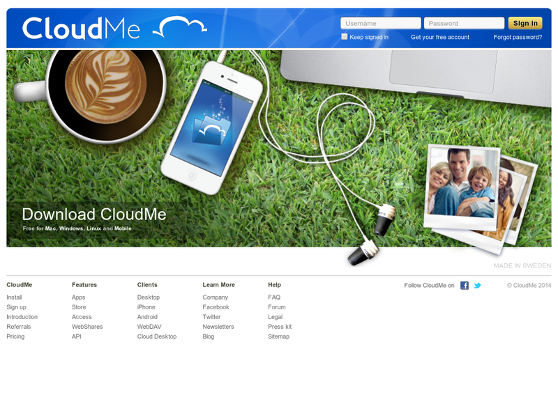 Images from CloudMe