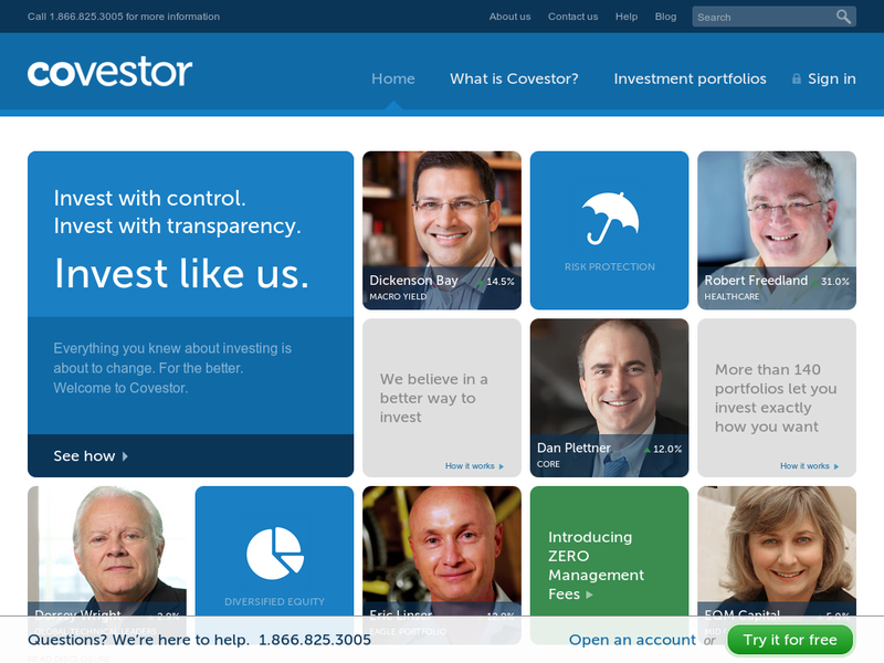 Images from Covestor