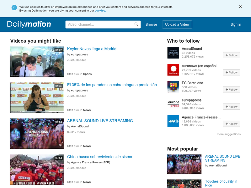 Images from Dailymotion