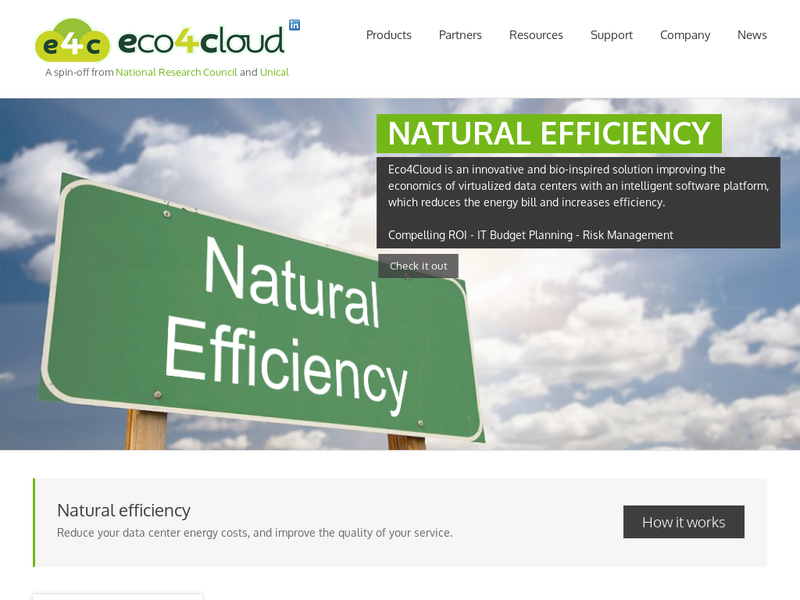 Images from Eco4cloud