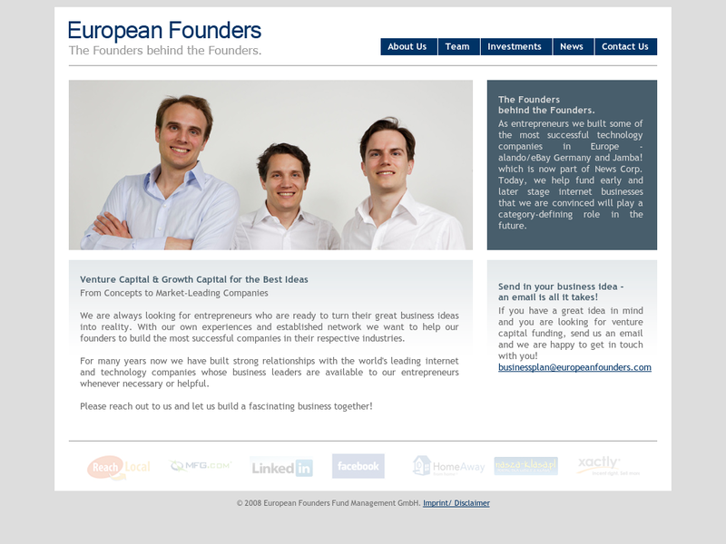 Images from European Funders