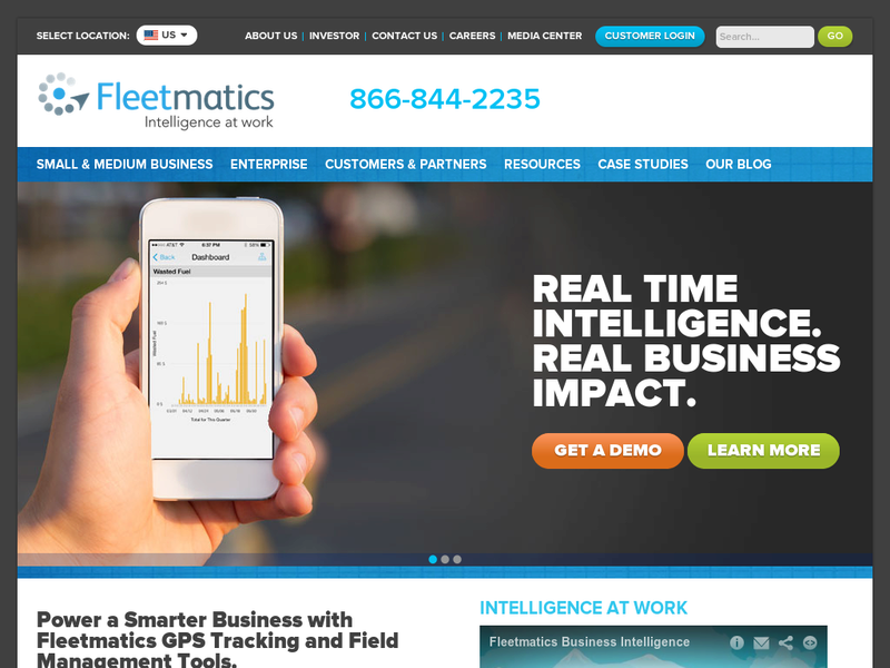 Images from Fleetmatics