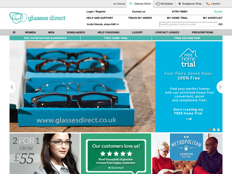 Images from Glasses Direct