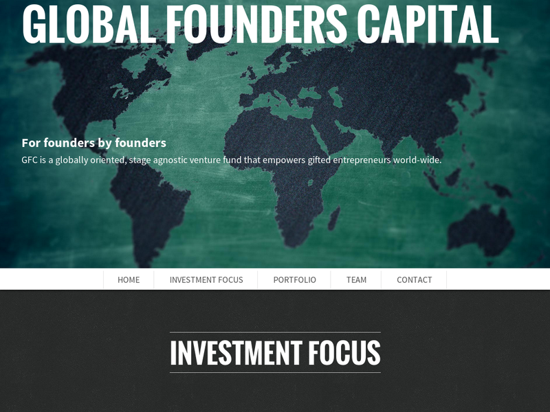 Images from Global Founders Capital