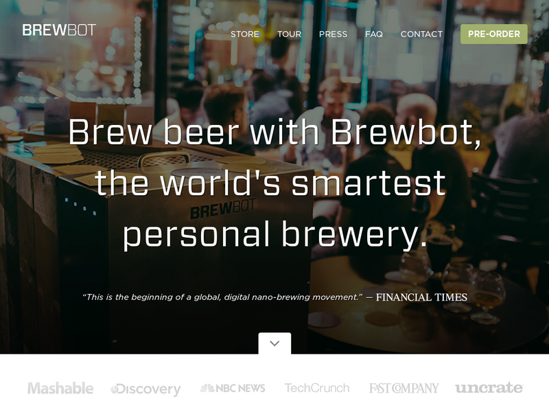 Images from BREWBOT