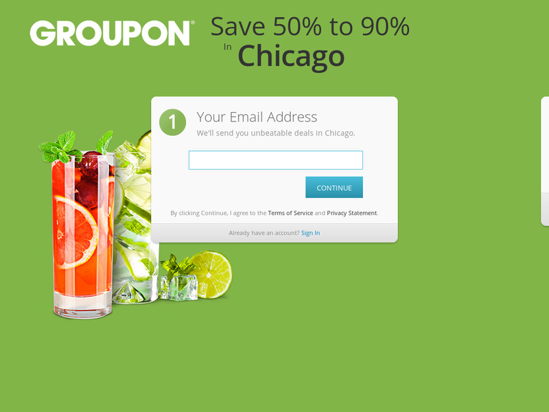 Images from Groupon