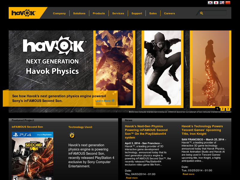 Images from Havok