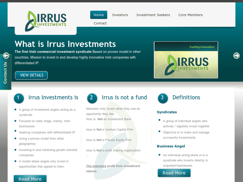 Images from IRRUS Investments