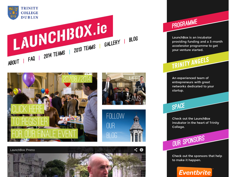 Images from Launchbox.ie