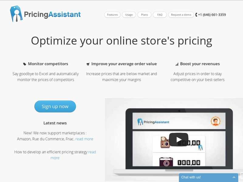 Images from Pricing Assistant