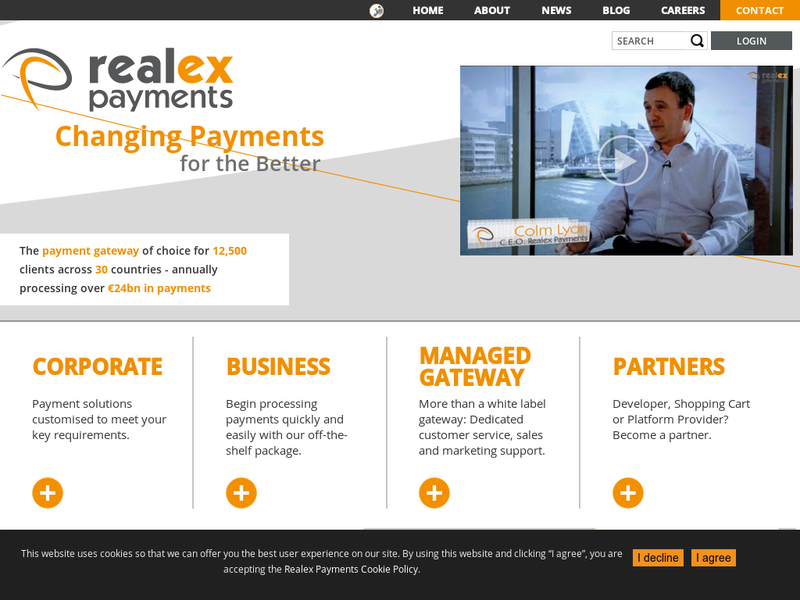 Images from realex payments