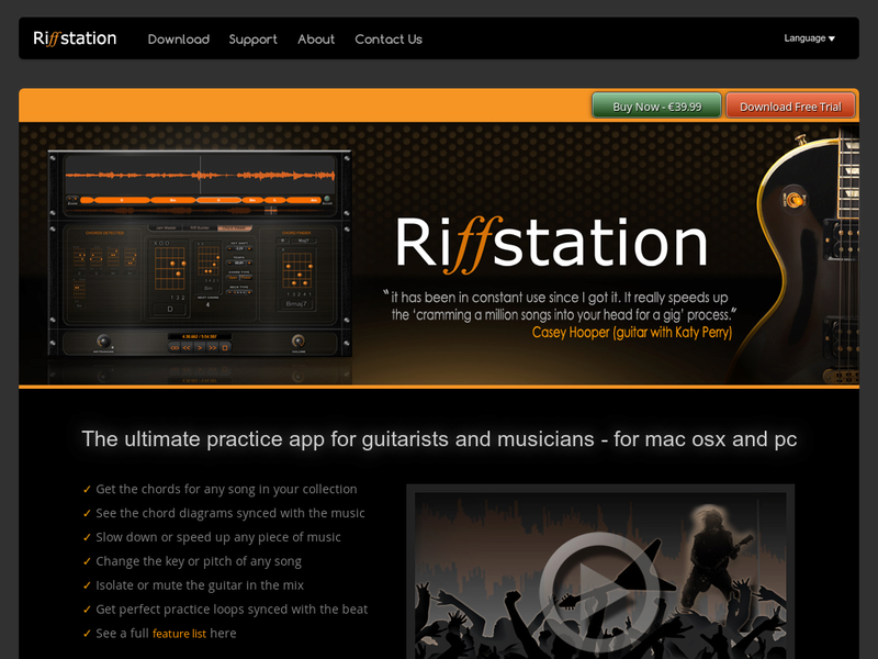 Images from Riffstation