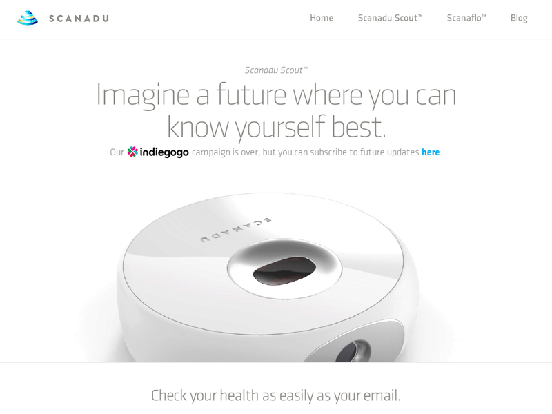 Images from Scanadu