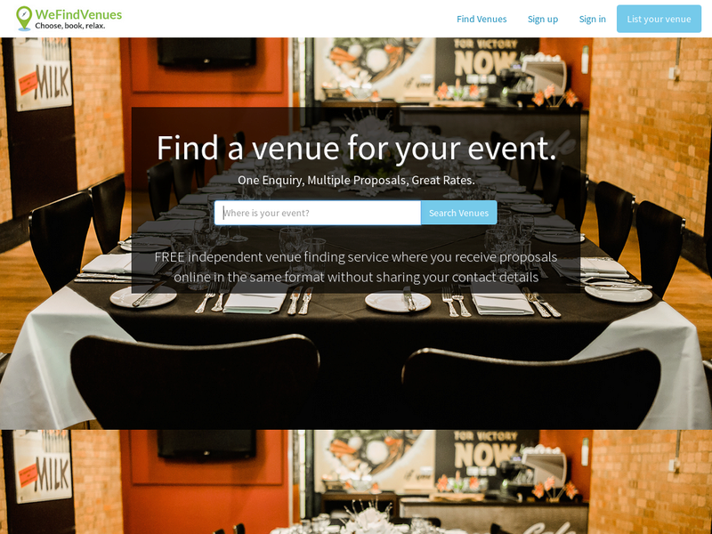 Images from WeFindVenues