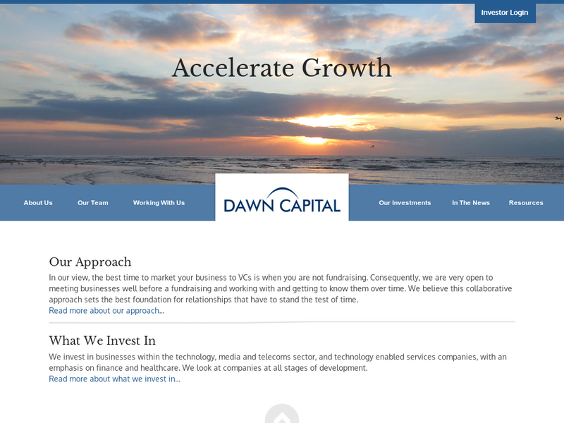 Images from Dawn Capital