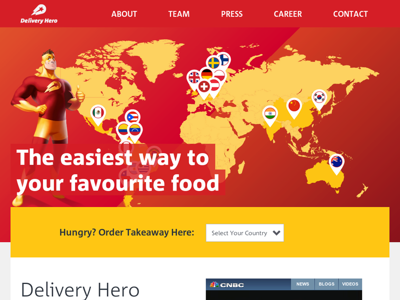 Images from Delivery Hero