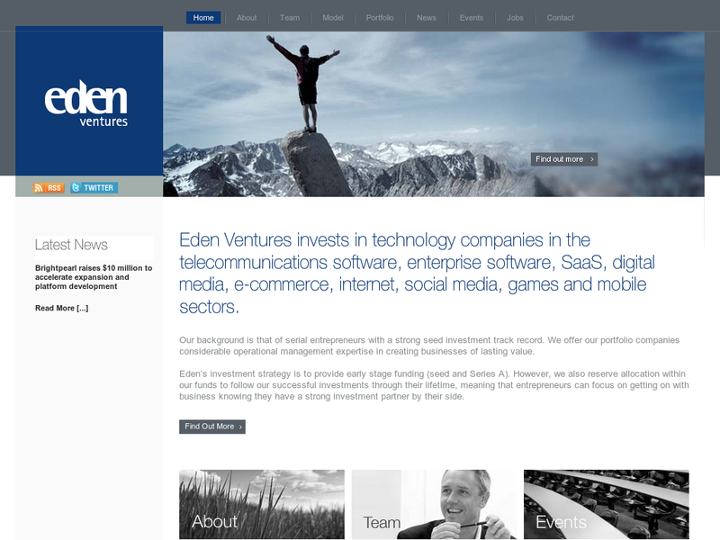 Images from Eden Ventures