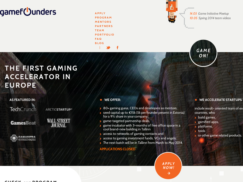 Images from GameFounders