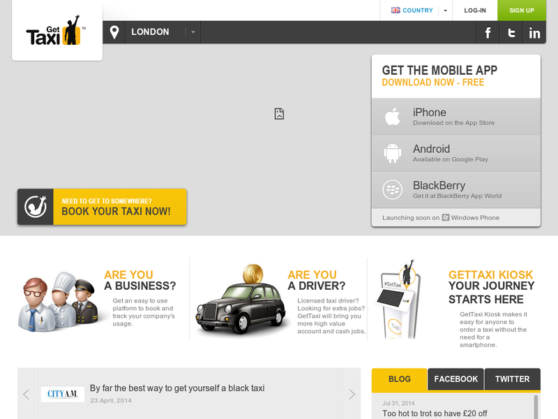 Images from GetTaxi