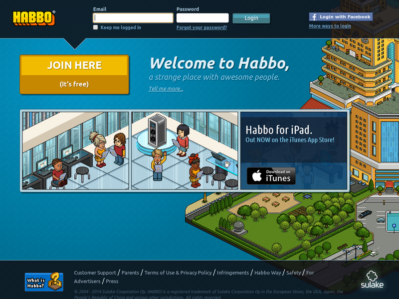 Images from Habbo