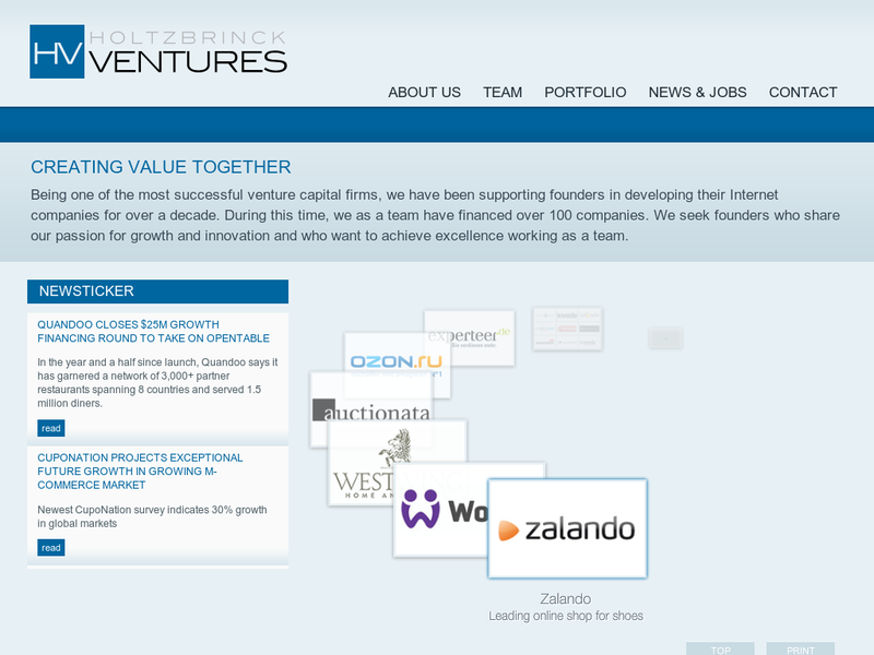 Images from Holtzbrinck Ventures