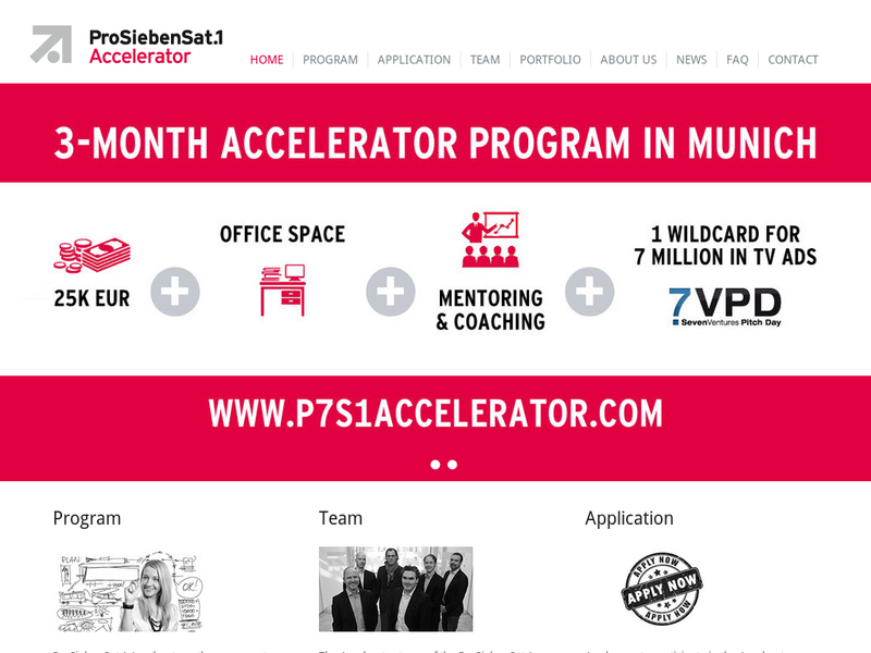 Images from ProSiebenSat1 Accelerator