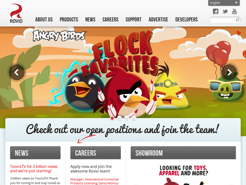 Images from Rovio