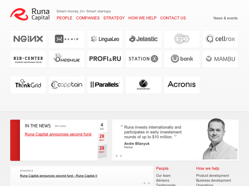Images from Runa Capital