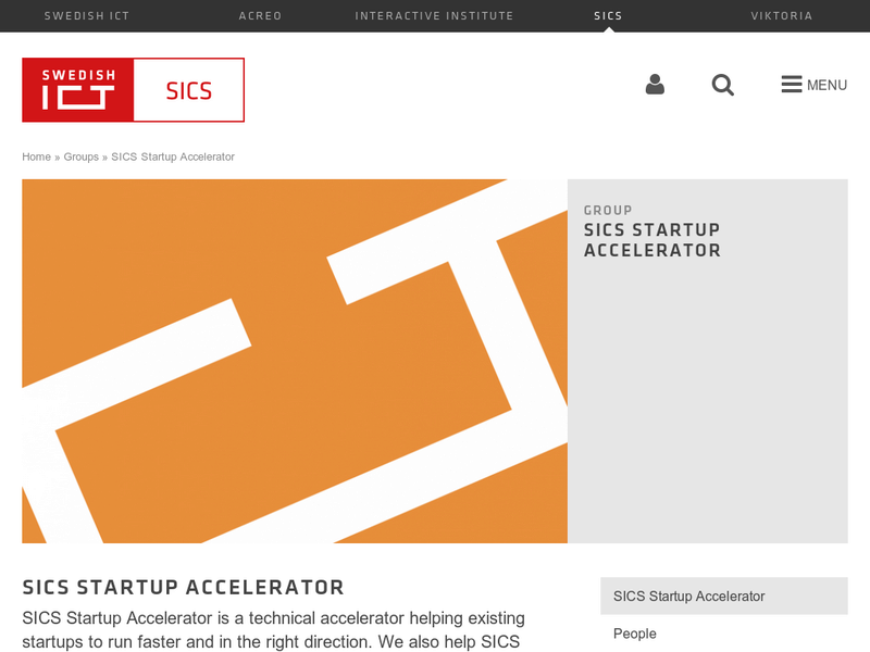 Images from SICS Startup Accelerator